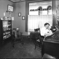 [Dr. Martha A.  McCullough's office in the Bank & Insurance Building]