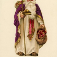 SAMPLE St. Nicholas with apples