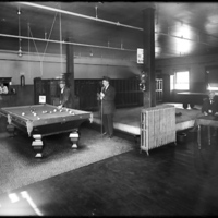 [Conductors' Lounge at the Union Electric Car Barn]