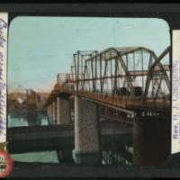 [Bridge across the Mississippi at Dubuque, Iowa]